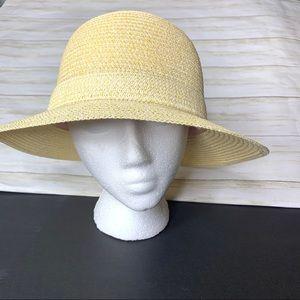 """Lauren Conrad """"packable"""" fashion hat. 100% paper."""